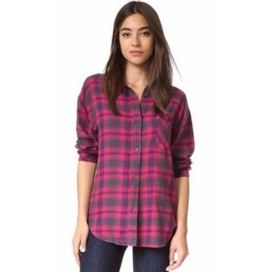 Rails Tops - Rails Flannel Long Sleeve Shirt Small